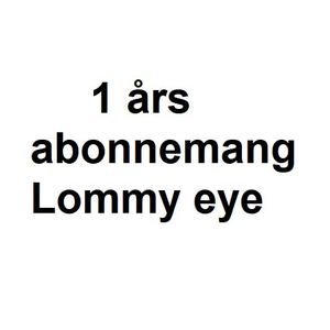 1 Års Abonnemang - Lommy EYE, Rock, Container inkl SIM