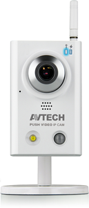 AVN813 - 1,3 Megapixel - Push-video, LED, SD-kort, Wifi, I/O